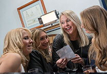 party photo booth mirror hertfordshire hire