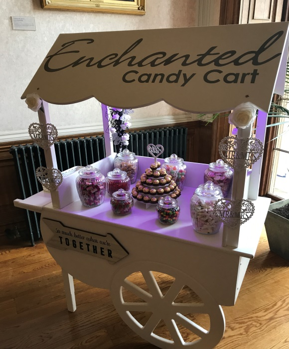 enchanted candy cart