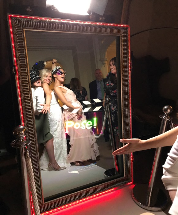 magic mirror wedding action