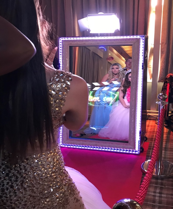 enchanted magic mirror prom action