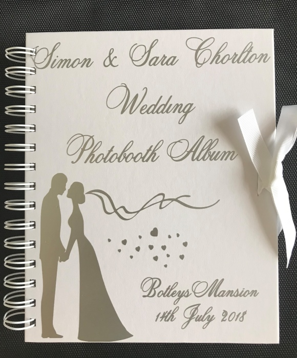 enchanted photo guest book