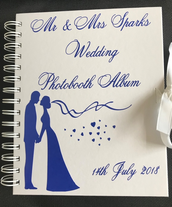 enchanted photobooth guest book
