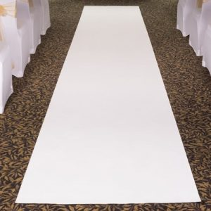 white carpet