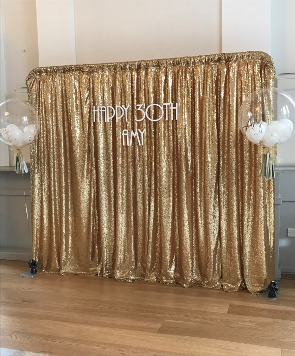 bespoke backdrop for party
