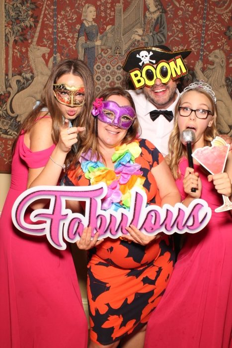 enchanted photo booths wedding guests