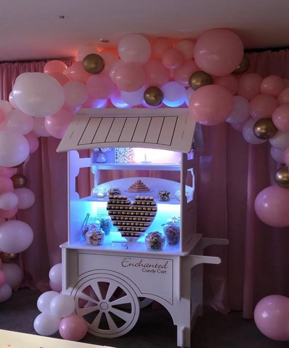 enchanted candy cart1