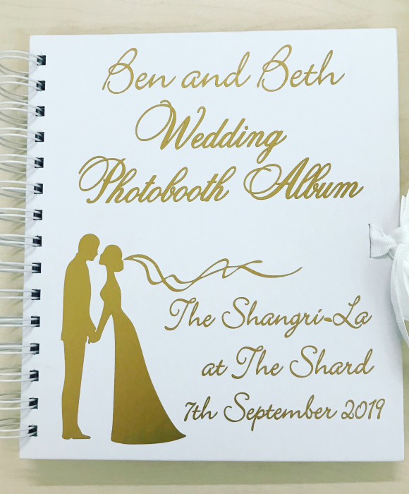 enchanted guest book